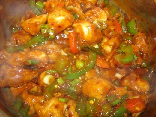 Hakka cuisine is a fusion of Chinese and Indian cooking.  It has been developed by a small community of Chinese people that have lived in Kolkata for over a century.  One of their most popular dishes is chili chicken and for those of you who have...