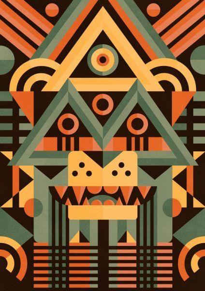 As máscaras de Ben Newman — Referans