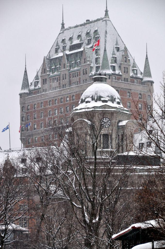 Le Château Frontenac, Québec City, Canada
