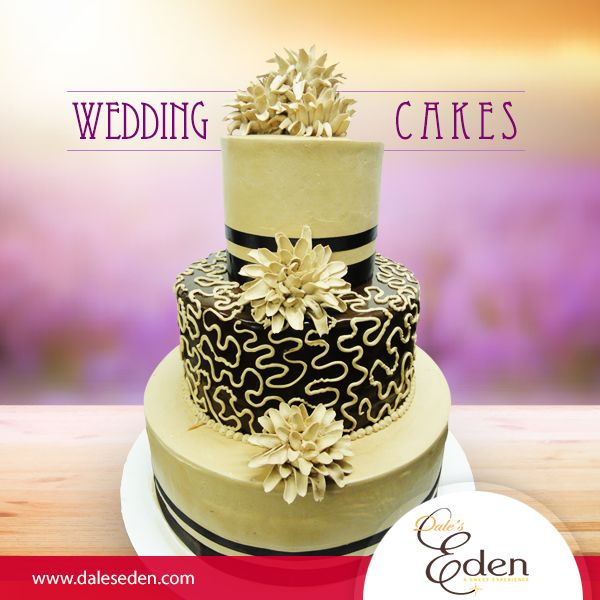 Special cakes for special occasions. Book your wedding cake now. #Wedding #cakes