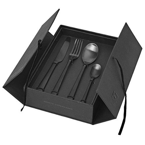 Besteckset HUNE BLACK 16 tlg. matt Titanium im Geschenkka... https://www.amazon.de/dp/B01LWQYI2F/ref=cm_sw_r_pi_dp_x_aFmtybZA2Q55X