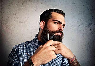 стрижка бороды 1