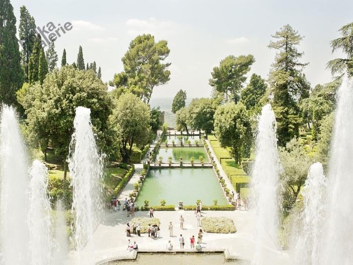 Massimo SIRAGUSA  Villa d'Este, Tivoli, Italie 2010  Tirage Fine Art sur papier Hahnemühle  50 x 66 cm / 5 exemplaires  100 x 133 cm / 5 exemplaires