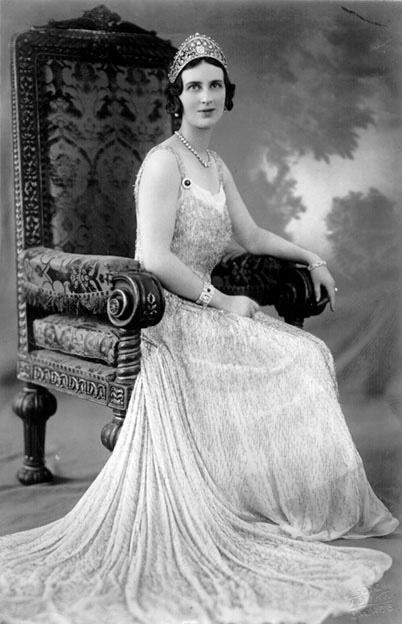Her Royal Highness Princess Paul of Yugoslavia (1903-1997) née Her Royal Highness Princess Olga of Greece and Denmark.