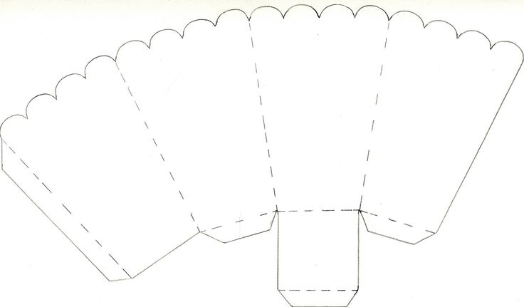 picture regarding Printable Popcorn Boxes named Popcorn Containers: How Toward Crank out Popcorn Bins Template