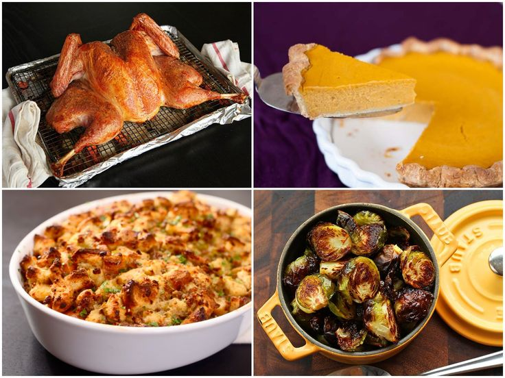 Here is what a real traditional #thanksgiving menu looks like.