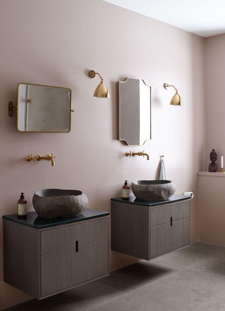 The 25 Best Pink Scandinavian Bathrooms Ideas On Pinterest