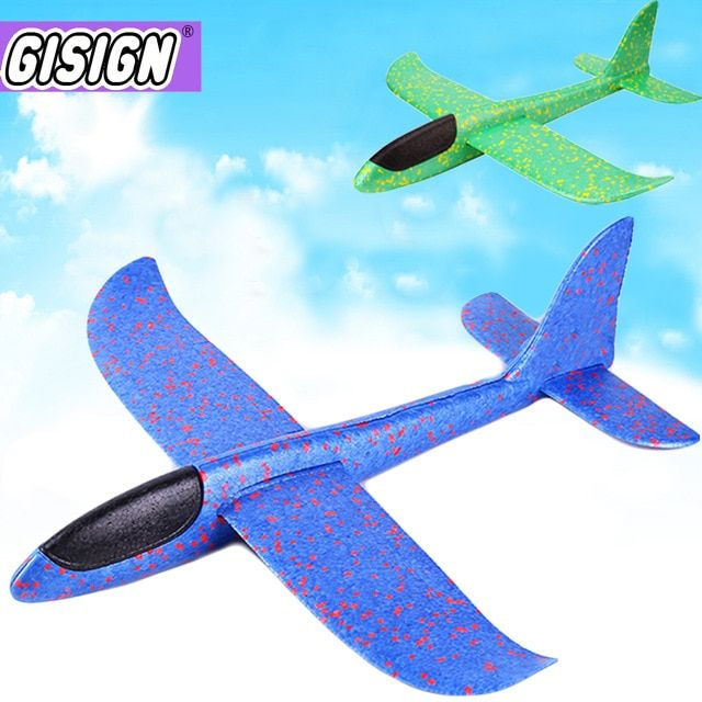 2019 Kids Toys Airplane Hand Throw Flying Glider Planes Foam Aeroplane Model Flying Glider Plane Toys For Kids Game Review Airplane Toys Toy Plane Model Flying