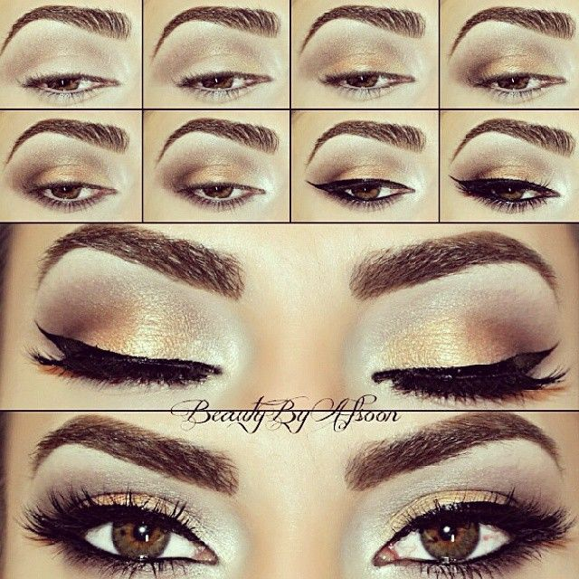 Smokey eye makeup for brides. #ESQIDO Voila Lash is the best choice for weddings…