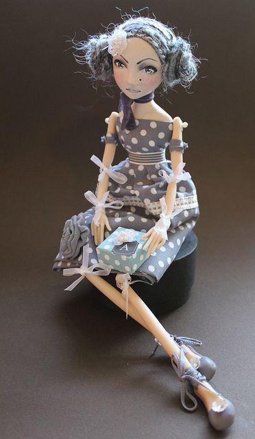 Abi Monroe art doll