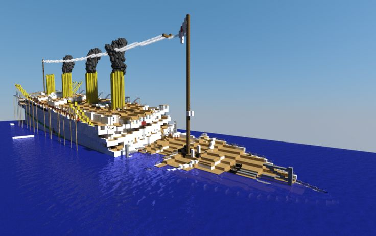 Break Boat Minecraft Build