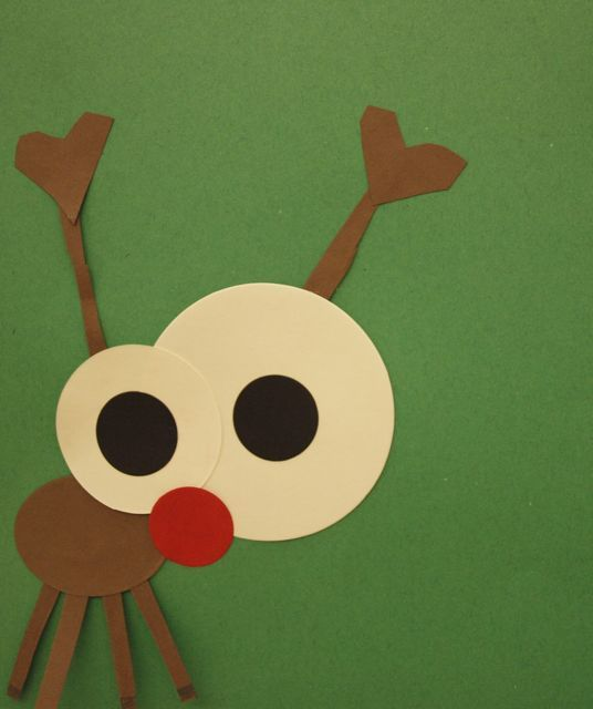 Reindeer, good bulletin board idea!