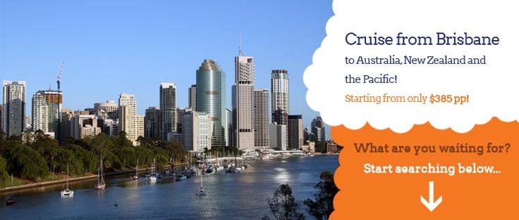 Cruise Holidays from Brisbane