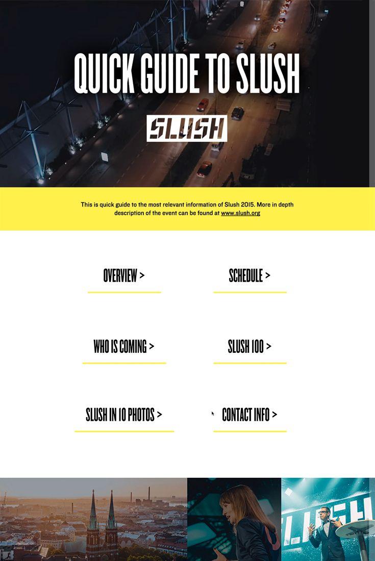 A Quick Guide to Slush: http://slush.liquidblox.com/Quick+Guide+to+Slush/1/