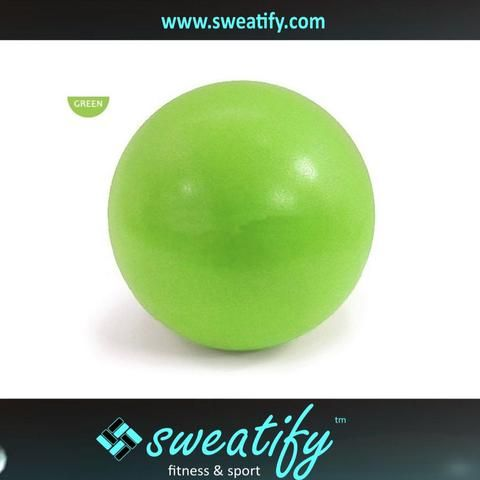Sweatify 9-Inch Mini Stability Ball for Exercise, Yoga, Training and Physical Therapy
