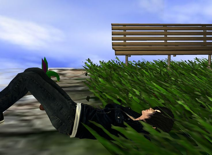 """Grass is Greener"" Captured Inside IMVU - Join the Fun!"