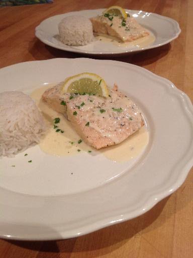 Sauce au beurre blanc pour poisson