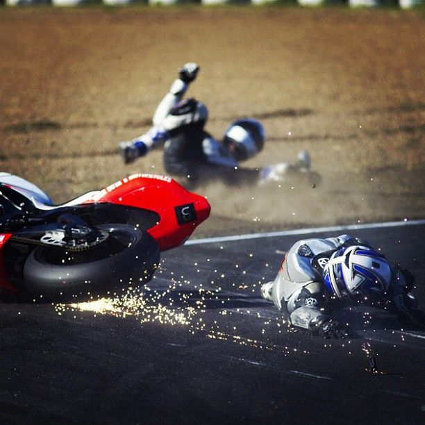 ASBK 2013, An Oil Spill Sees 3 Riders Down