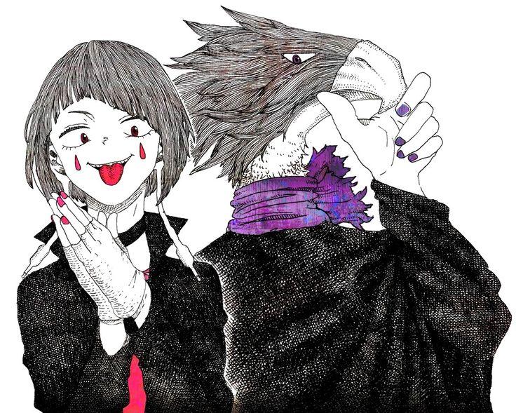 Boku no Hero Academia || Kyouka Jirou || Tokoyami Fumikage