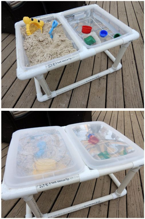 diy water table for toddlers