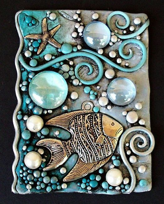 Google Image Result for http://www.ebsqart.com/Art/ACEO/polymer-clay-silver-glass-gems-pearls/599071/650/650/Blue-Pearl-Tropical-Fish-ACEO-polymer-clay.jpg