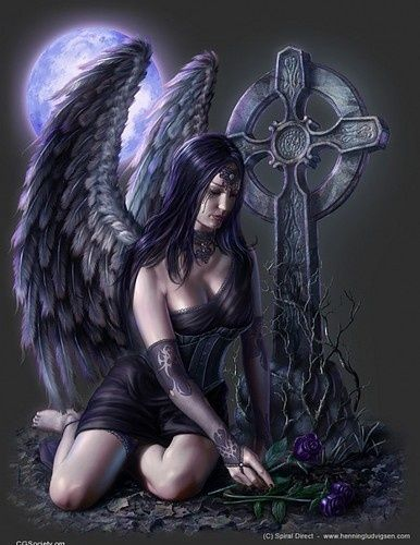 Anne Stokes Art | Gothic Angel - Anne Stokes by joyce