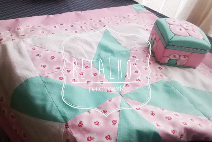 #blanket and #box foam, isopor #patchwork