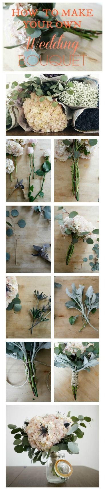 Step By Step : How to Make Your Own Perfect Bouquet