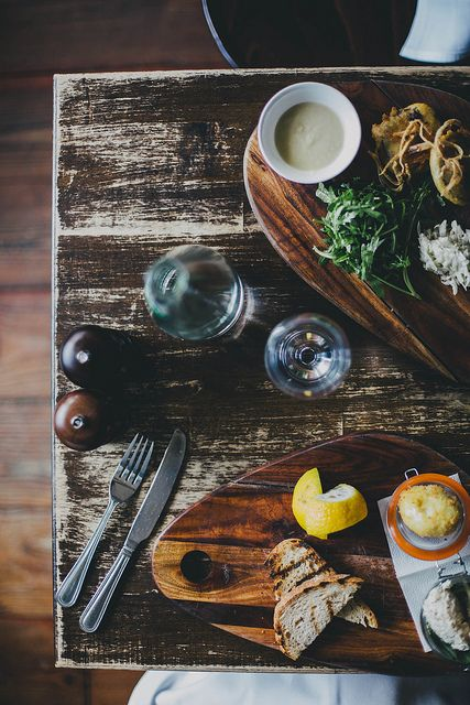 Fish Pate & Black Pudding Fritters, The Winding Stair by Beth Kirby | {local milk}