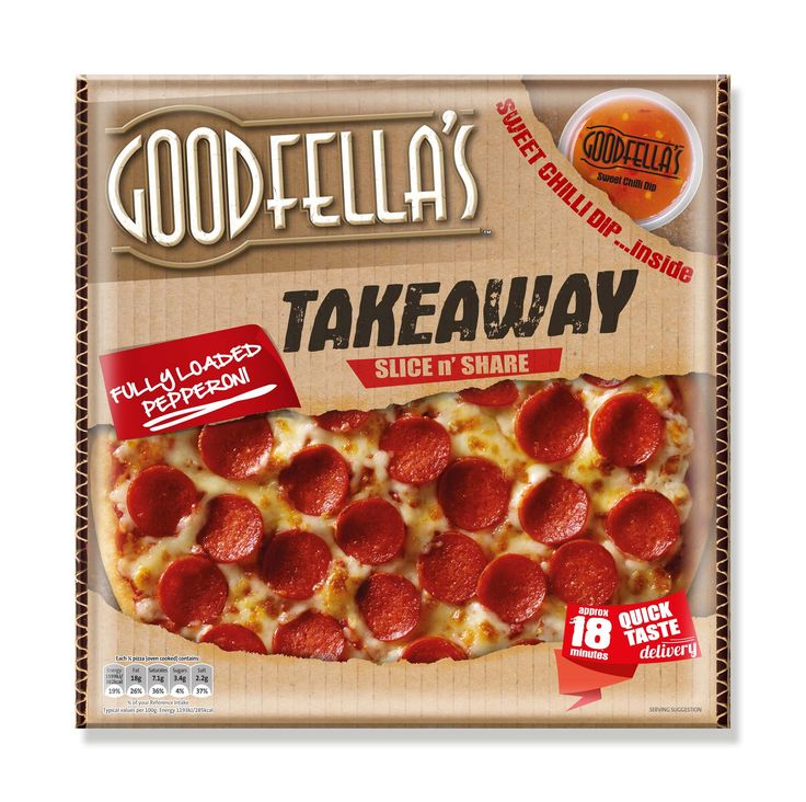 Goodfellas Takeaway Pizza, designed by Mesh Design, Dublin!