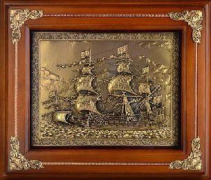 Деревянная ключница Каравелла - Деревянные ключницы большие <- Шкатулки и бары - Каталог | Универсальный интернет-магазин подарков и сувениров