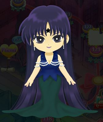 Mistress 9 from Sailor Moon Drops game.