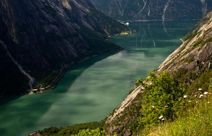 Circuit détaillé d'un voyage en Norvège en famille avec un fourgon aménagé en camping-car: parcours détaillé avec carte de Norvège