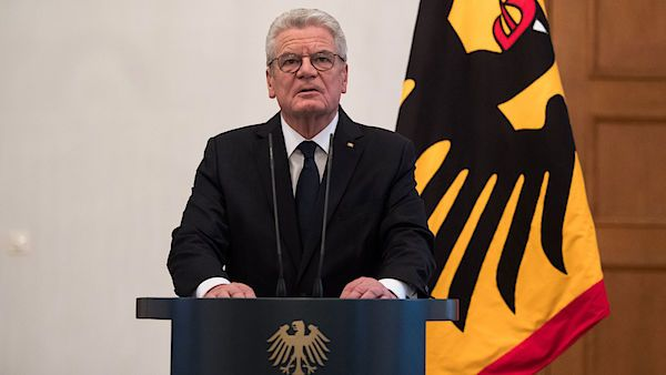 Německý prezident Joachim Gauck