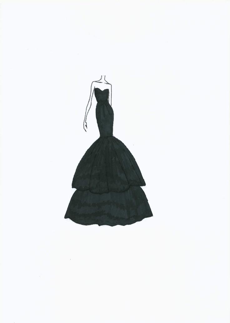 long black dress