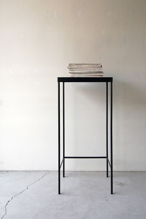 nautdesign:130 | 01_Custom made furniture Frame side board : W450 D350 H1,050 / Steel hardening melamine paint