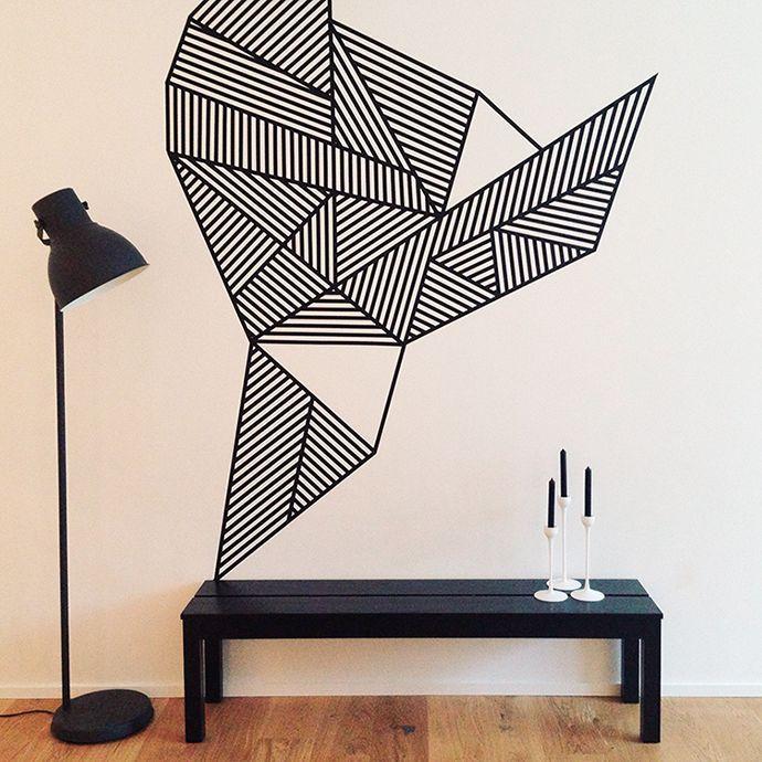 25 melhores ideias sobre fita washi no pinterest fita for Decoration murale isolante