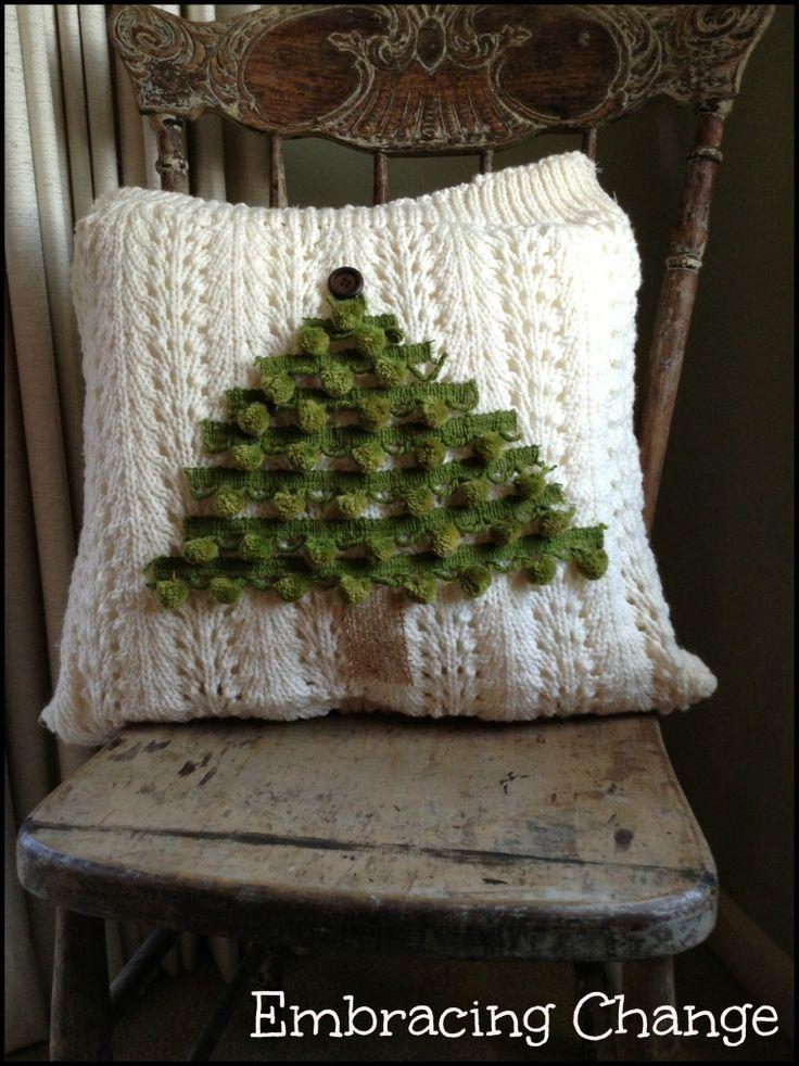 Sweater Pillows 1 - Embracing Change · Craft BusinessBusiness IdeasSweater ... & 31 best Christmas - pillows images on Pinterest | Cushions ... pillowsntoast.com