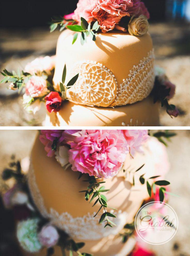Wedding lace cake Свадебный торт кружево