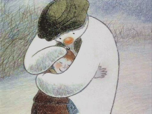 The Snowman ~ Raymond Briggs (for Amelia)