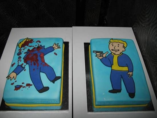 Fallout 3 cake
