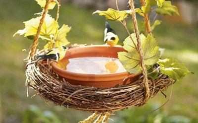 ► ► Mil ideas para la casa y el jardin ♥: Comederos de Aves