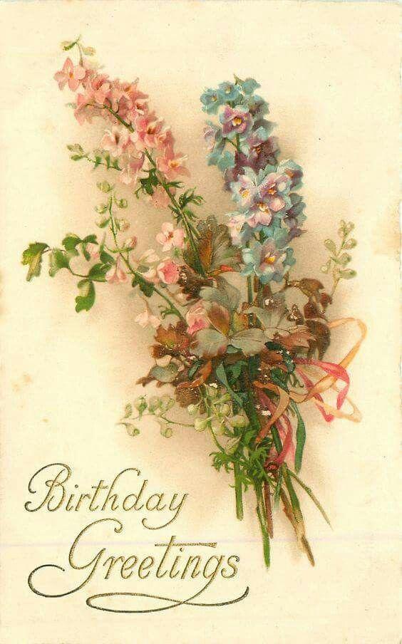 потолки поздравления с днем рождения цветы картинки винтаж собрав