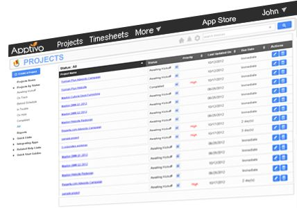 Free Online CRM, Invoicing, Project Management & Timesheets Software