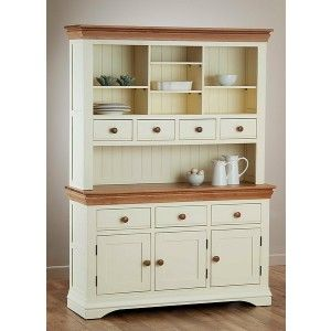 Oak furniture land white dresser