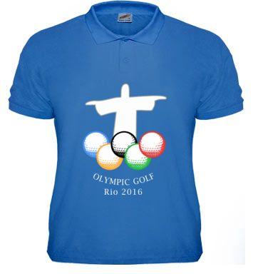 Olympic Golf Rio 2016. #golf #olympics #Rio #2016 #christ #poloshirt