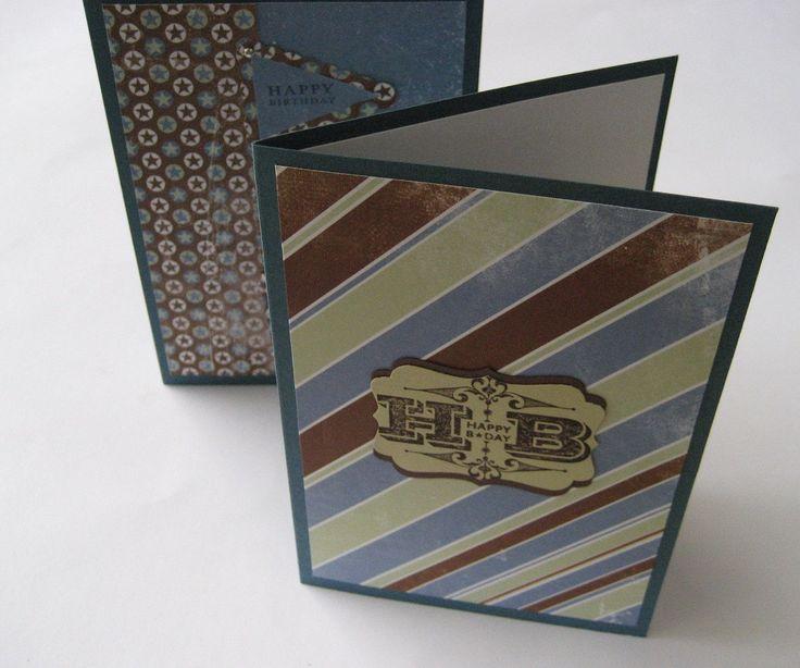 Handmade Happy Birthday Cards For Men Man Male