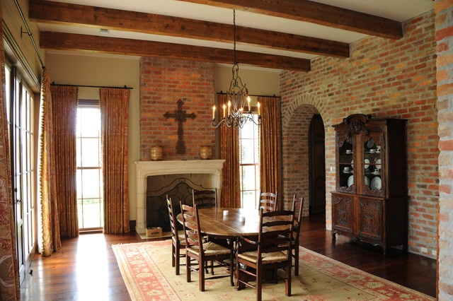 Akrley home traditional dining room new orleans by for Jones design company dining room
