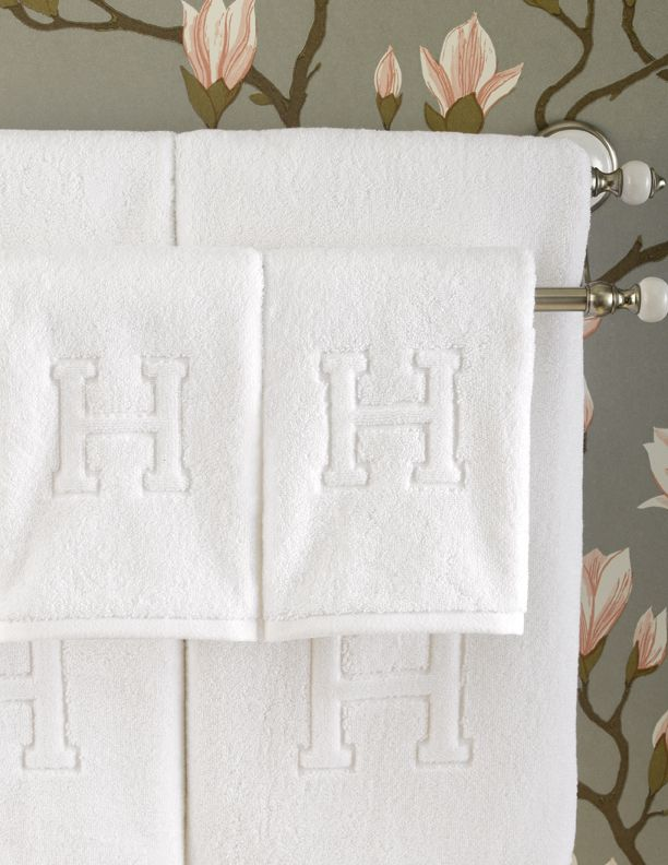 Auberge. Monogram TowelsMonogrammed Hand ...