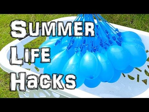 (2) The Ultimate Summer Life Hacks Video - YouTube